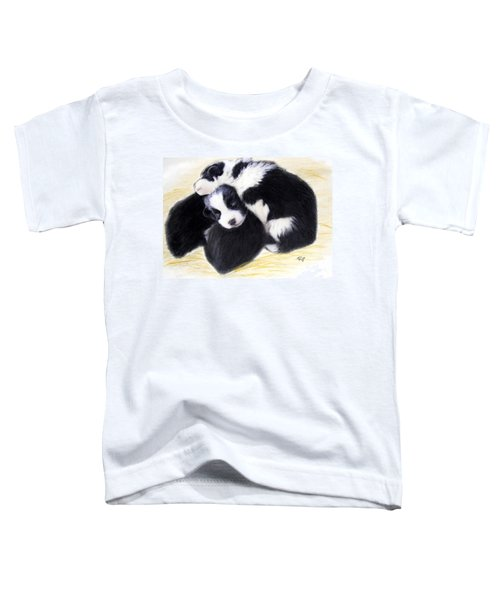 Australian Cattle Dog Puppies Toddler T-Shirt