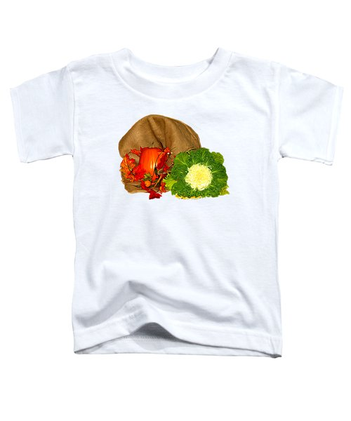Autumn Display Expressionist Effect Toddler T-Shirt