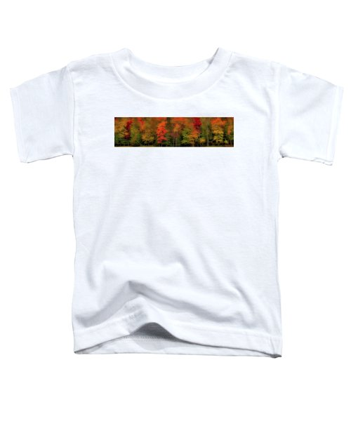 Autumn Fence Line Toddler T-Shirt