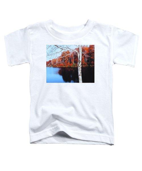 Autumn Lake Toddler T-Shirt