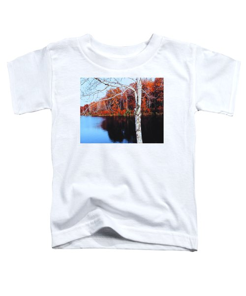 Autumn Lake Toddler T-Shirt