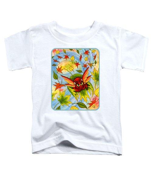 Autumn Winds Fairy Cat Toddler T-Shirt