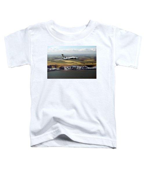 Avro Vulcan Over The White Cliffs Of Dover Toddler T-Shirt