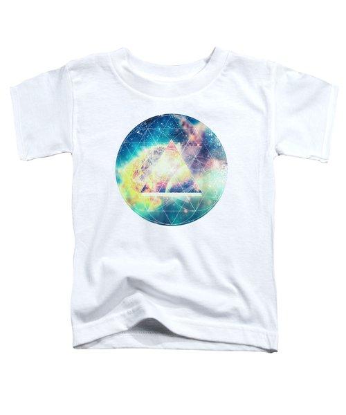 Awsome Collosal Deep Space Triangle Art Sign Toddler T-Shirt