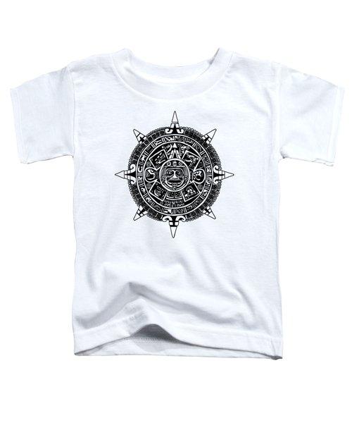 Aztecs Calendar Toddler T-Shirt