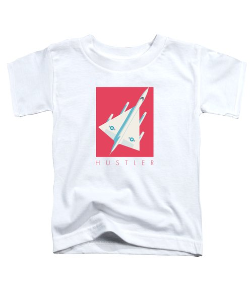 B-58 Hustler Supersonic Jet Bomber - Crimson Toddler T-Shirt