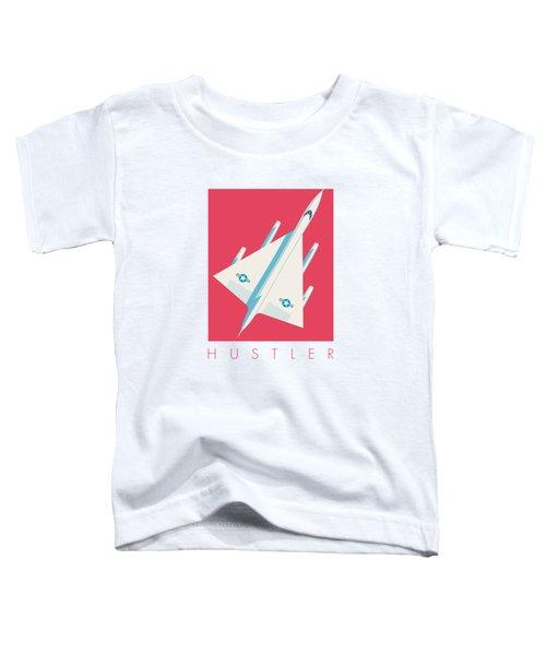 B-58 Hustler Supersonic Jet Bomber - Crimson Toddler T-Shirt
