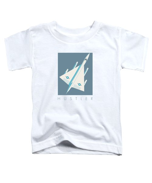 B-58 Hustler Supersonic Jet Bomber - Slate Toddler T-Shirt