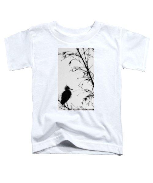 Baby Egret Waits Toddler T-Shirt
