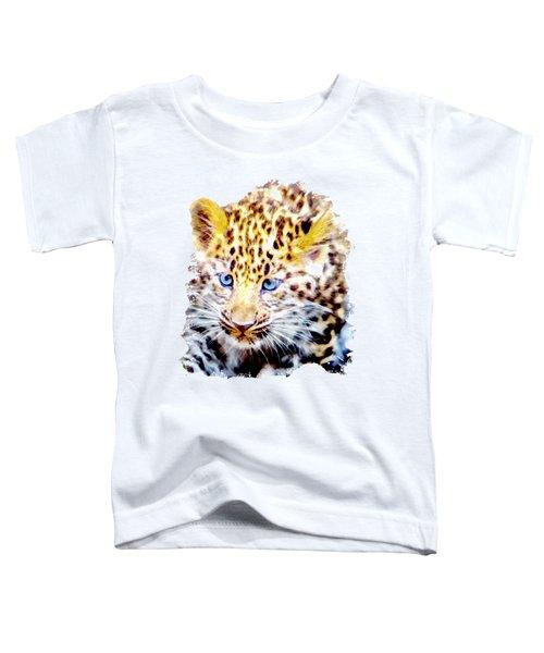 Baby Leopard Toddler T-Shirt