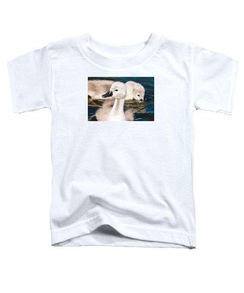 Baby Swan Close Up Toddler T-Shirt