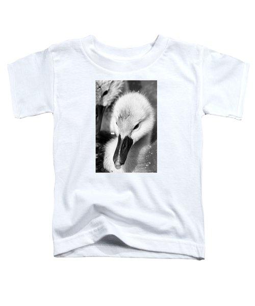 Baby Swan Headshot Toddler T-Shirt