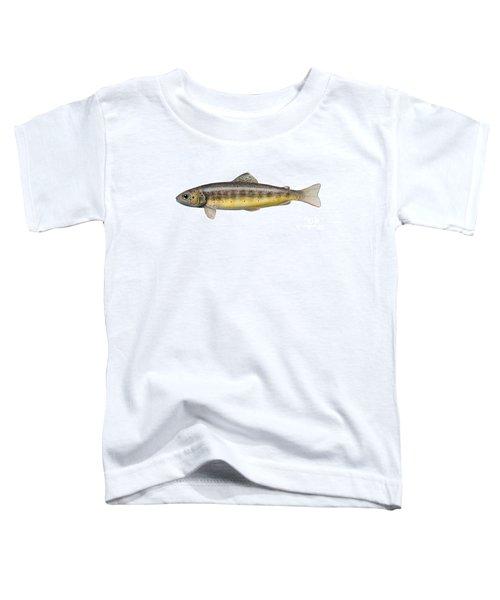 Bachforelle - Indigene - Autochthone- Beekforel - Oering - Truite De Riviere - Trucha Comun Toddler T-Shirt