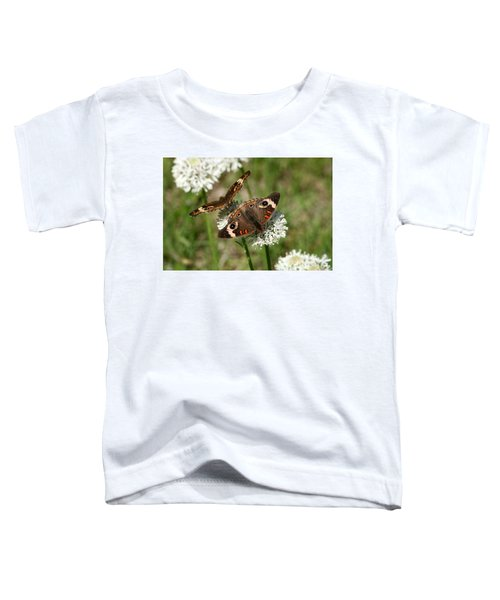 Back To Back Butterflies Toddler T-Shirt