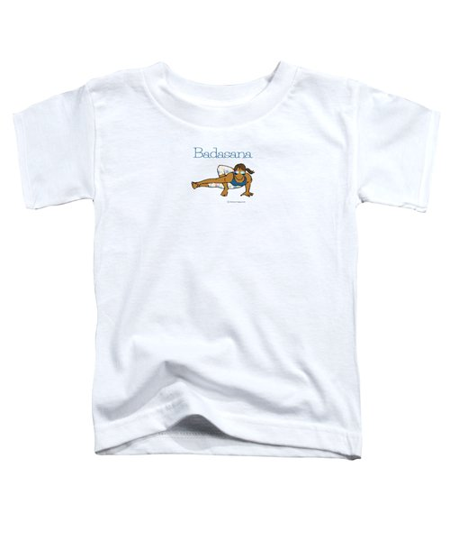 Badasana 2 Toddler T-Shirt