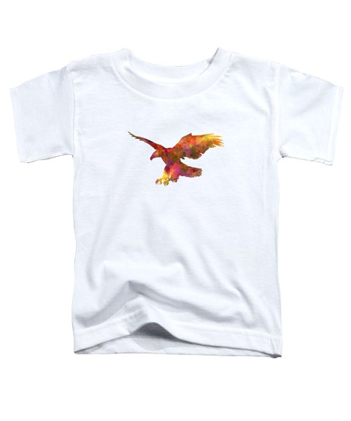 Bald Eagle 01 In Watercolor Toddler T-Shirt