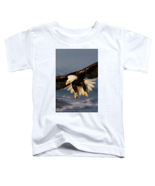 Bald Eagle In Action Toddler T-Shirt