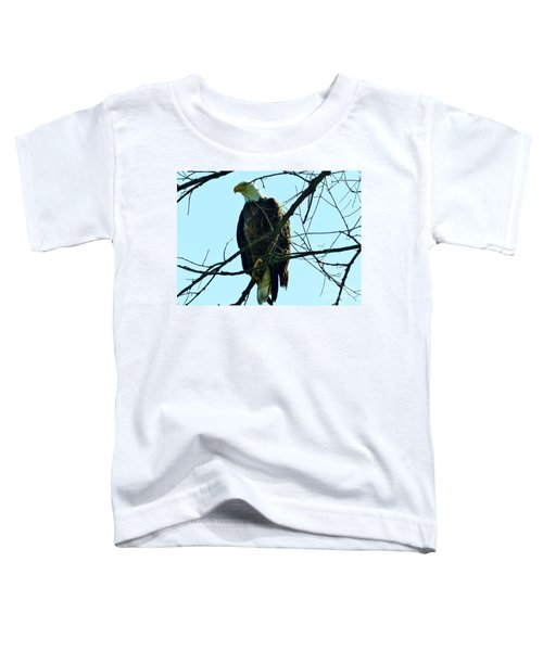 Bald Eagle Over The Root River Toddler T-Shirt