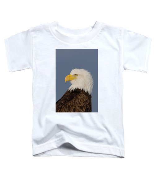 Bald Eagle Portrait Toddler T-Shirt