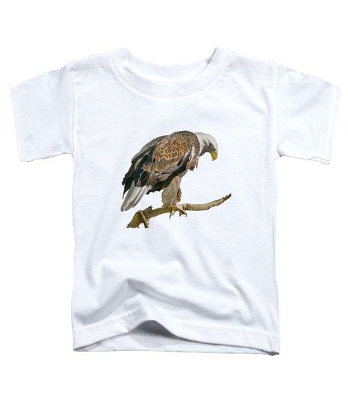 Bald Eagle - Transparent Toddler T-Shirt