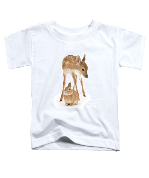 Bambi And Thumper Toddler T-Shirt