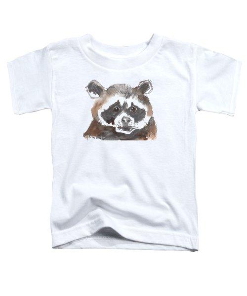 Bandit Raccoon Toddler T-Shirt