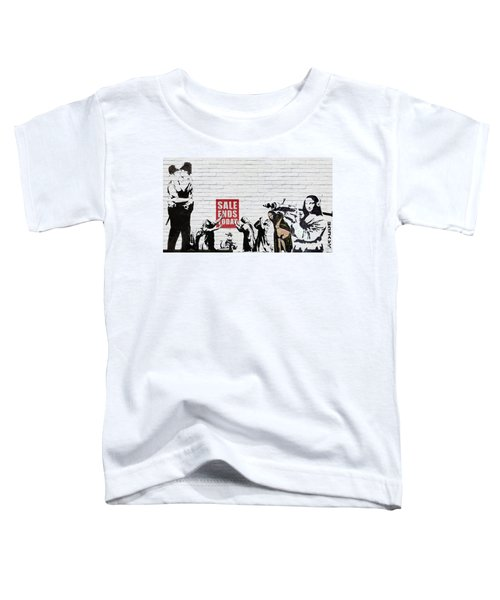 Banksy - Saints And Sinners   Toddler T-Shirt