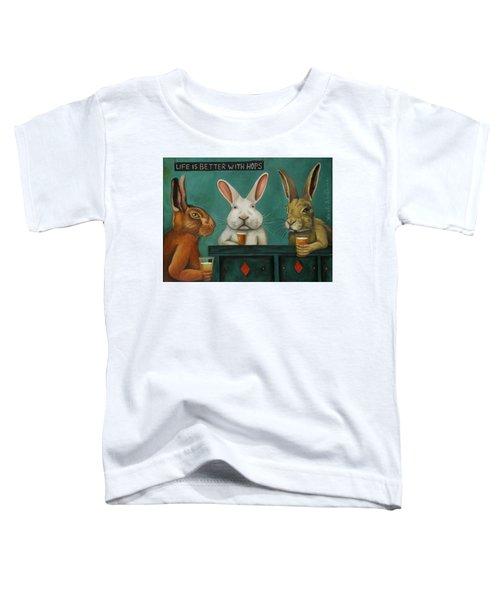 Bar Hopping Toddler T-Shirt
