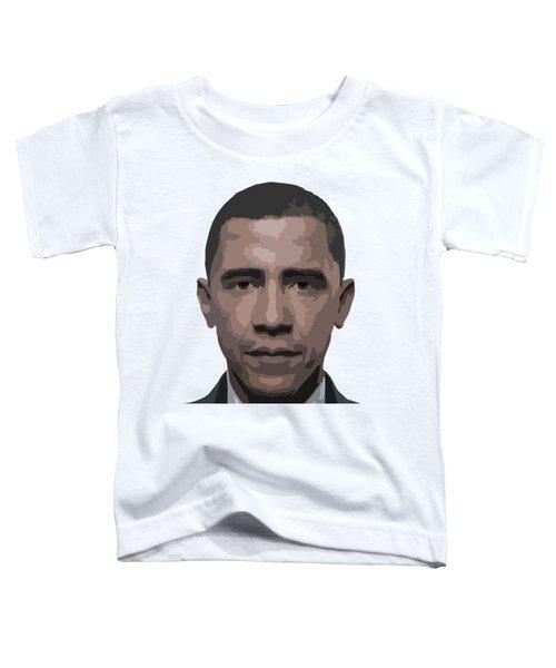 Barack Obama Toddler T-Shirt by Tshepo Ralehoko