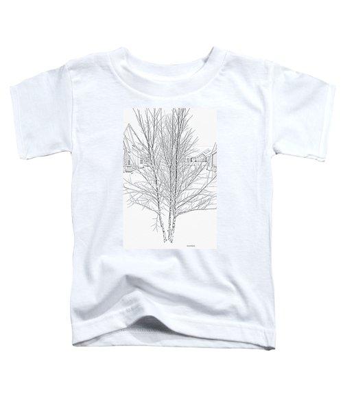 Bare Naked Tree Toddler T-Shirt