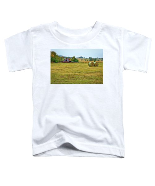 Barn And Field Toddler T-Shirt