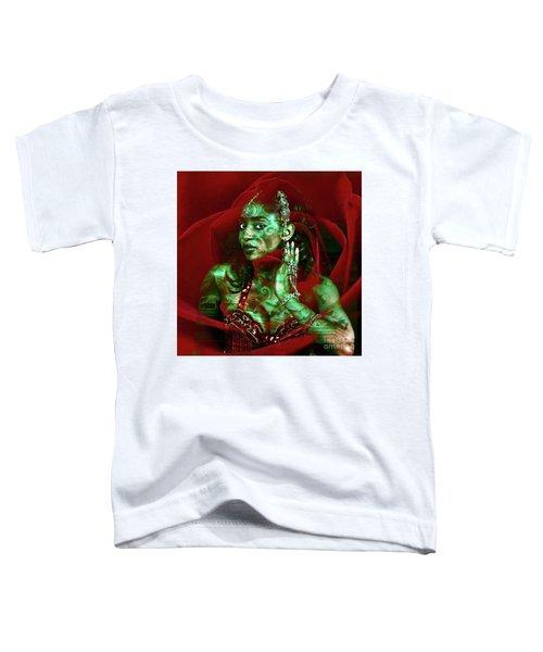 Baroque Meets Oriental Rose Toddler T-Shirt