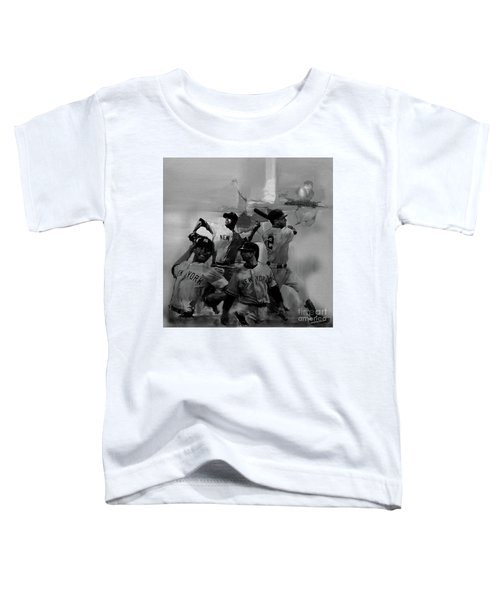 Base Ball Players Toddler T-Shirt by Gull G