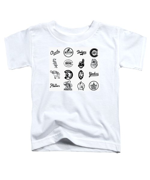 Baseball Logos Toddler T-Shirt