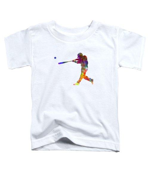Baseball Player Hitting A Ball 02 Toddler T-Shirt