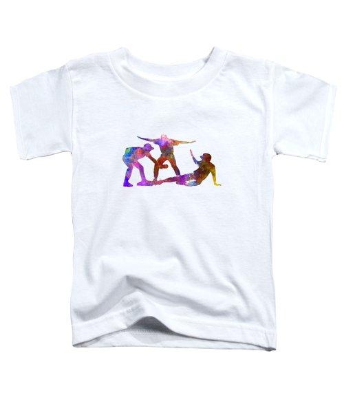 Baseball Players 03 Toddler T-Shirt by Pablo Romero