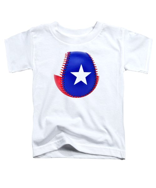 Baseball Star Toddler T-Shirt