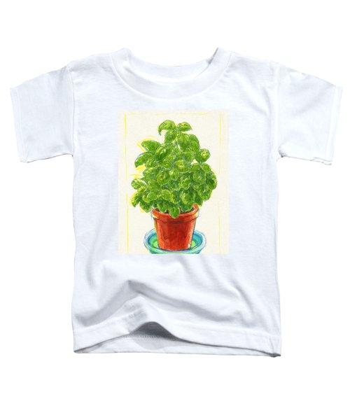 Basil Toddler T-Shirt