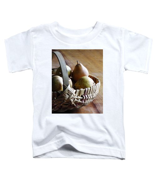 Basket And Pears Toddler T-Shirt