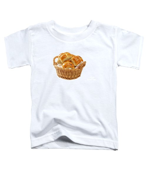 Basket Of Hot Cross Buns Toddler T-Shirt