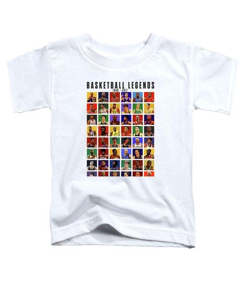 Basketball Legends Toddler T-Shirt