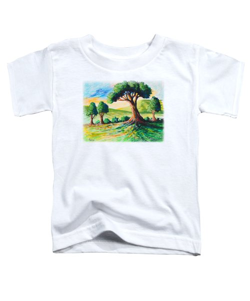 Basking In The Sun Toddler T-Shirt by Anthony Mwangi