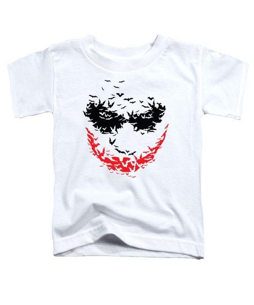 Bat Face Toddler T-Shirt