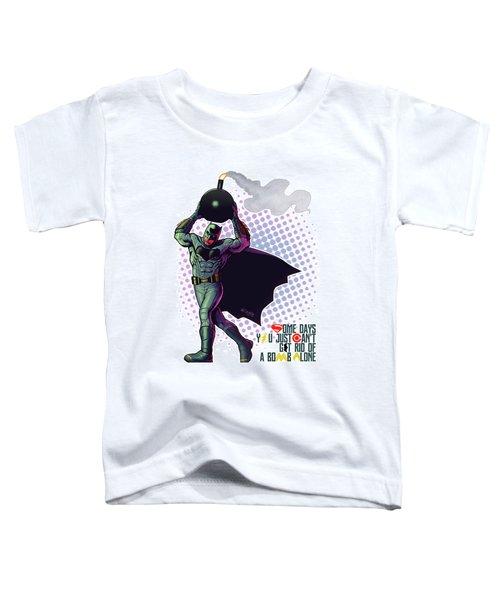 Batfleck And The Bomb 2 Toddler T-Shirt