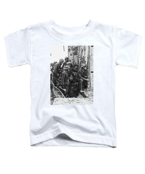 Battle Of Stalingrad  Nazi Infantry Street Fighting 1942 Toddler T-Shirt