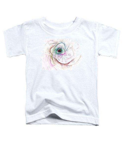 Be Strong Little Flower Toddler T-Shirt