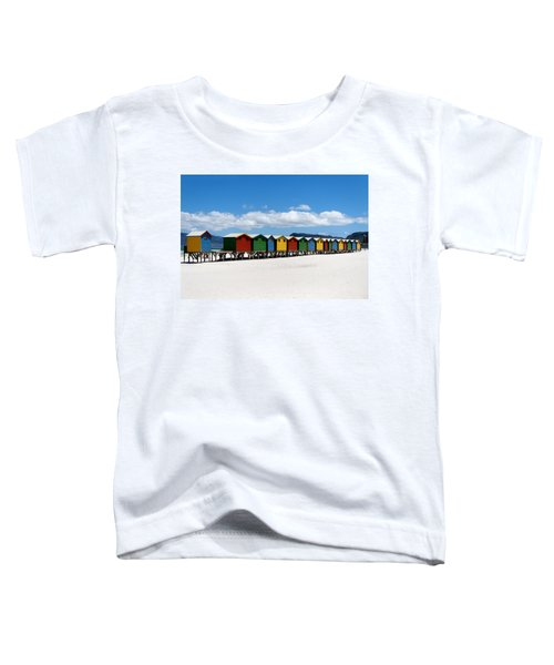 Beach Cabins  Toddler T-Shirt