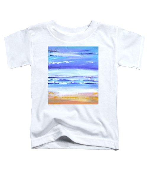 Beach Dawn Toddler T-Shirt by Winsome Gunning