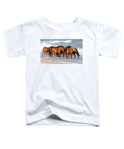 Beach Ponies Toddler T-Shirt