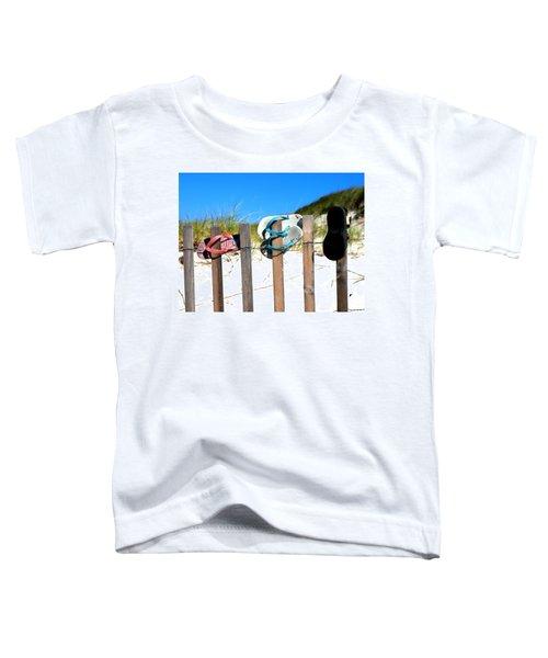 Beach Sandels  Toddler T-Shirt